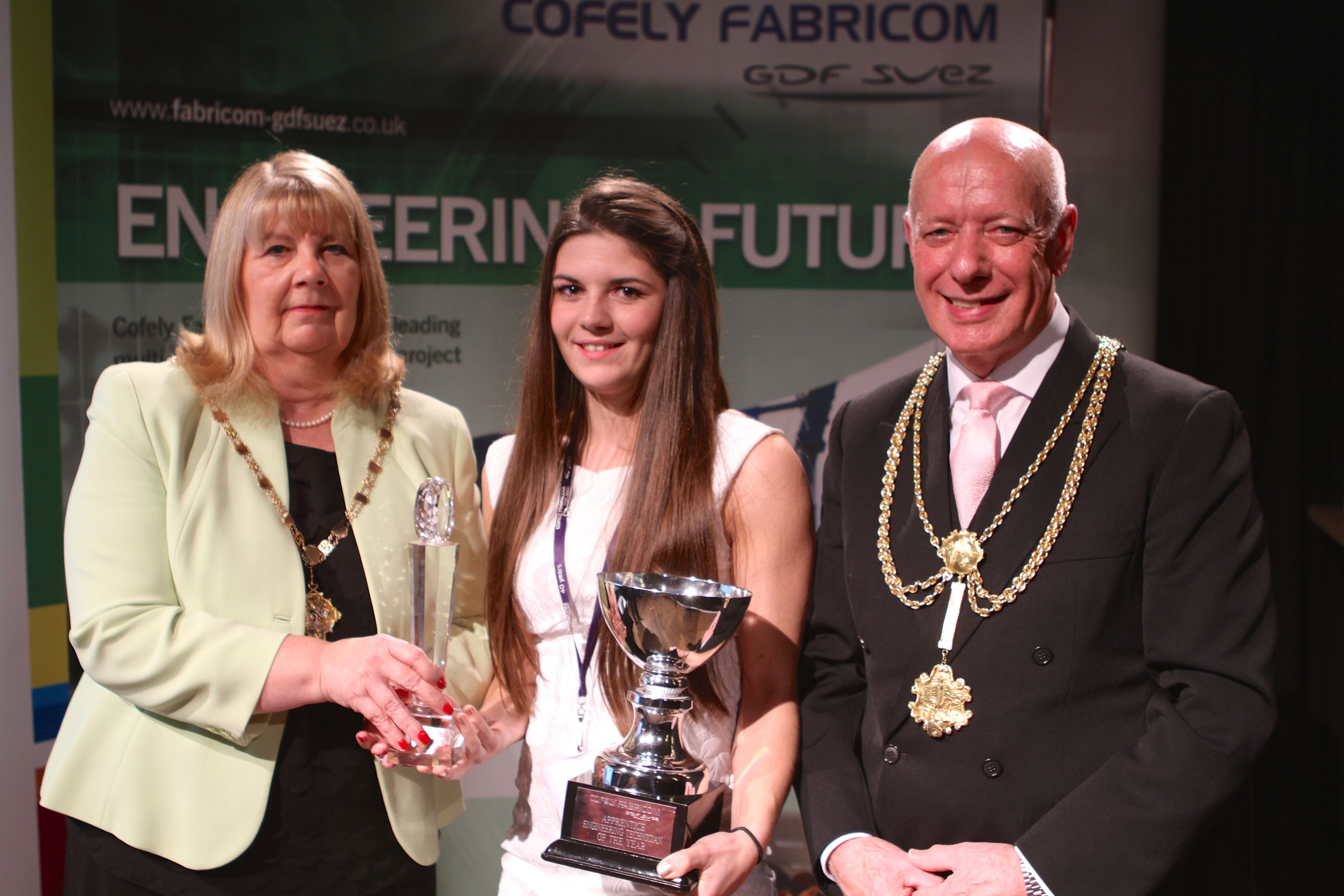 Clelsea Griffin & Mayor and Mayoress
