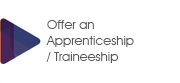 Offer an apprenticeship