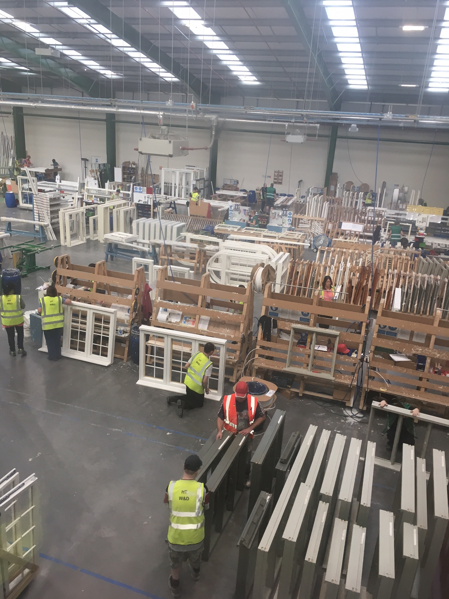 Staff are trained in all manner of areas from assembly process courses to leadership and management functions and are also empowered and rewarded when it ... & Behind the Scenes with Howarth Timber Group: The only time you stop ...