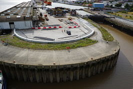 Albert Dock flood alleviation work supported by £3m Growth Deal Investment safeguarding 300 properties and 3,000 jobs