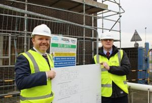 Growth Deal project: Partner Grimsby Institute Group's Sam Whittaker at the building of Modal Training facilities in Immingham