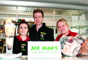 Skills Support for the Workforce the most successful UK scheme - 6,174 Humber people trained: Mr Moo's Ice Cream staff in Skipsea gain level 2 in food safety
